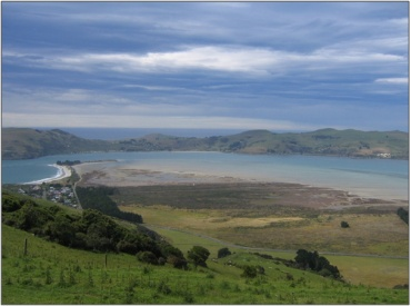 Ecological significant saltmarsh at Aramoana, New Zealand (Photo: Otago Regional Council). Proposed site of aluminium smelter in the late 1970s – became the focus of environmental protest. Proposal abandoned due to falling commodity prices.