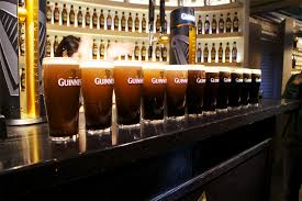 lots of guinness poured